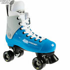 "SUPREME ""Bravo"" Quad Rollerskates Complete 4uk - 11uk Blue/Grey Skates SALE"