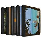 STUFF4 PU Leather Book Case/Cover for Apple iPad 2/3/4/Thailand Scenery