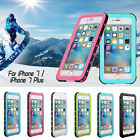Waterproof Case For iPhone 7 & 7 Plus Ultra-thin Dust-Proof SnowProof ShockProof