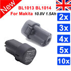 10.8V 1.5Ah Li-ion Battery For Makita BL1013 BL1014 LCT203W DF330D TD090D NEW
