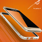 Luphie Bumper Frame Aluminum Metal  Cover Case For Samsung Galaxy S7 / S7 Edge