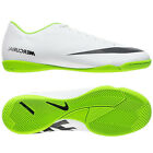 Nike Mercurial Victory IV IC Indoor Soccer Shoes 2013 White - Green Brand New