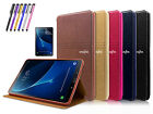 Smart Cover Leather Sleep/Wake Case For Samsung Galaxy Tab A E S New iPad 2018