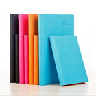 A5/A6 Size Ruled Diary Planner Schedule Notebook  PU Leather Note Book Memo #AU