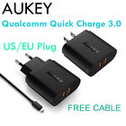 Aukey QC3.0 Travel Charger Quick Charge 3.0 Portable Wall Charger Universal New