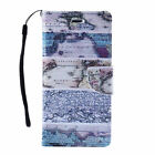Patterned Leather Flip Wallet Protective Case Cover For Apple iPhone 6 6S 7 PLUS