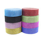 8 Row-10 YD Diamond Rhinestone Ribbon Mesh Wrap Wedding Party Floral Decorations