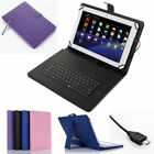 protective case for 10 inch tablet - PU Leather Case Cover Micro USB Keyboard for 7'' 8'' 10'' inch Tablet