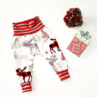 0-2 Years Baby Casual Harem Pants Boys Girls Toddlers Printed Bottoms Trousers