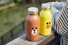 LINE FRIENDS Double Wall Stainless Steel Bottle BROWN SALLY Mosh Tumbler 11.83oz