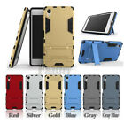 Dual-Layer Heavy-Duty Hybrid Armor Case Cover for Sony Xperia X, F5121/F5122