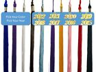 Graduation Tassel 2019 / 2018 / 2017 / 2016 / 2015 - Solid Color - Gold Charm