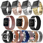 New Stainless Steel Magnetic Milanese Loop Watchband Strap for Apple Watch 2 / 1