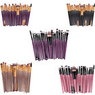 Set Of 20x Makeup Brushes Cosmetic Foundation Blending Eyeliner Concealer Brush
