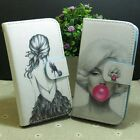 Marilyn Monroe Pretty Girl Wallet Pouch Stander flip case cover for Sony Phone