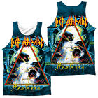 DEF LEPPARD HYSTERIA Sublimation Men's Graphic Tank Top Sleeveless Tee SM-3XL