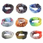 3 PCS A Lot Fish Skin Fishing Headwear Scarf Bandana Fly Fishing Head/Hair Band