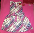 American Girl ~ Plaid Party Dress for GIRLS ~ Size 8 ~ BNWT