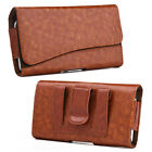 For Samsung Galaxy Note 8 9 New Leather Carrying Belt Clip Pouch Case Flip Cover