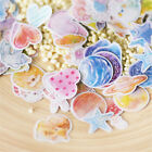70pcs Paper Sticker Tag DIY Diary Decor Sticker Album Scrapbooking Translucent