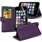 For APPLE iPhone 5s SE 6s 7 Plus Leather Flip Wallet Magnetic Case Cover <br/> 5 colors To Choose***With Card Holder***