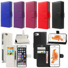 For Apple iPhone 8 SE 5s 6s 7 Plus Flip Wallet Leather Case Cover Magntic Luxury