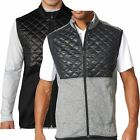 2016 Adidas Golf Climaheat Gilet Prime Fill Insulated Quilted Mens Thermal Vest