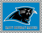 Carolina Panthers Edible Birthday Cake Topper OR Cupcake Topper, Decor $8.95 USD on eBay