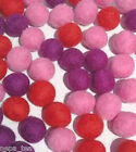 Pom Pom Handmande Nursery Felt Beads Balls100% Woolen 2cm Craft Supplies Ball