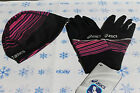 Asics PR Selter Glove with  Reversible Thermal 2N1 Beanie - New with Tags!