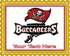 Tampa Bay Buccaneers - Edible Cake Topper OR Cupcake Topper, Decor $8.95 USD on eBay