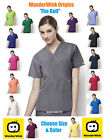 Wonder Wink Origins ~ The Golf ~ 6056 Mock Wrap Scrub Top Pick Size & Color!