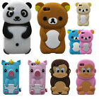 New Lovely Pattern Cartoon Silicone Phone Case Cover for Apple Mobile Phone