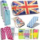 NEW PREMIUM LUXURY PU LEATHER PRINTED FLIP DIARY CASE FOR APPLE iPOD TOUCH 5