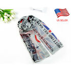Women Union Jack Scarf London Souvenir Gift Long Soft Voile Scarf