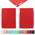 Magnetic Cover Leather Smart Flip Stand Case for Apple iPad 2 3 4 Air 1/2 Lot