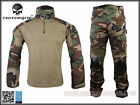 EMERSON Gen2 Combat Suit &Pants Uniform Set WoodLand  Military Airsoft EM6974