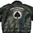 MOTORHEAD X-LARGE ACE OF SPADES BACK SEW ON PATCH LOGO NEW RARE