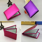 Car Driver's License Leather Holder Case Security ID Credit Cards Wallet Purse