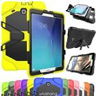 Hybrid Rugged Hard Shockproof Cover Rubber Case For Samsung Galaxy Tab 3 4 A E
