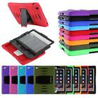 Heavy Duty Hybrid Shockproof Hard Case Cover Stand for Samsung Galaxy Tab Tablet