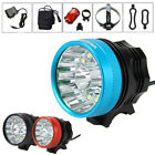 Waterproof 40000LM 14 x XM-L T6 LED 6 x 18650 Bicycle Cycling Head Light Lamp