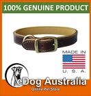 """New Weaver Deer Ridge Collection Leather Dog Collar 1"""" x 21"""" & Multiple Sizes"""