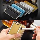 Luxury Rechargeable Cigarette Lighter Case Cover For iPhone 5 6 7 S Plus