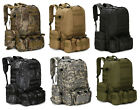 55L Molle Outdoor Military Tactical Bag Camping Hiking Trekking Backpack New