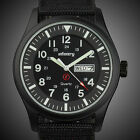 INFANTRY MENS QUARTZ WRIST WATCH DATE DAY NITE MILITARY SPORTS ARMY BLACK CANVAS <br/> ◆GENUINE INFANTRY◆BUY 1 GET 1 AT 5% OFF◆Ship from UK