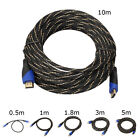 Durable lot 3/5/6/10/16/20/32 FT HDMI V1.4 AV Cable HD 3D for PS3 DVD yu