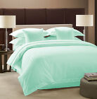 800 TC 100% Egyptian Cotton Stripe 5pc Duvet cover set  select size & color