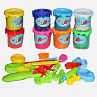 Enlightenment Modeling Clay Hand-made Plasticine Toy Set 8 Pcs Environmental New