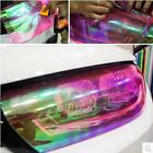 Chameleon Change Auto Tint Vinyl Wrap Sticker Headlight Film Car Light Film US